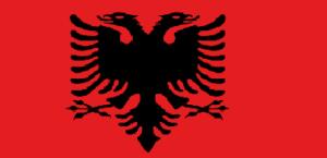 Albánská vlajka