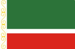 Čečenská vlajka